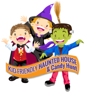 Halloween Fun Weekends with haunted house and candy hunt