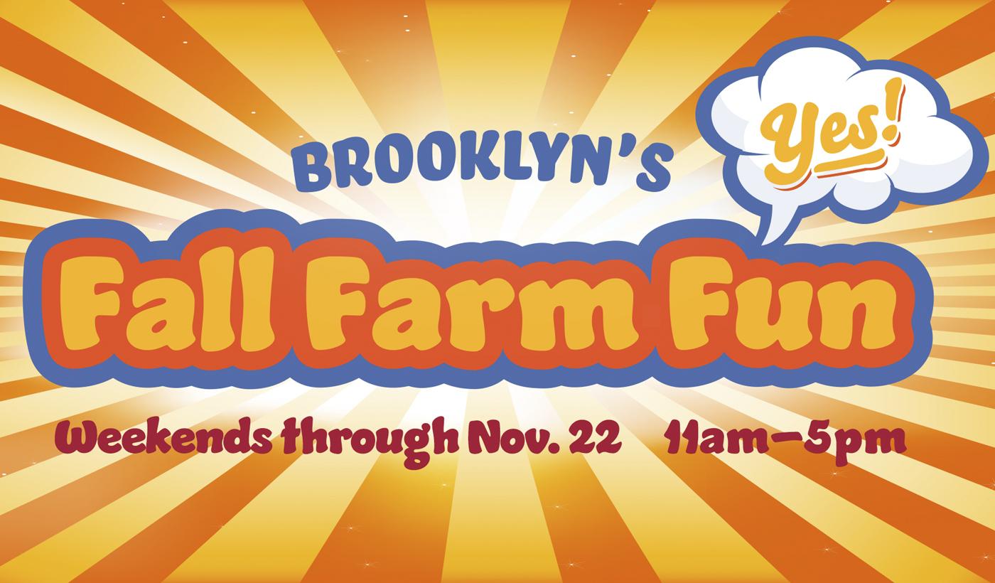 Green Meadows Farm Brooklyn Fall Farm Fun kid friendly event October November