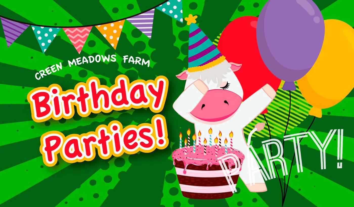Birthday Parties at Green Meadows Farm